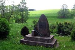 Dne 25. září 1938 byl při obraně vlasti u Vrchní Orlice německými ordnery zákeřně zastřelen dozorce Finanční stráže Josef Navrátil